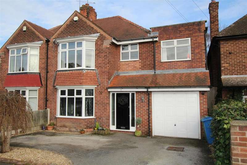 5 Bedrooms Semi Detached House for sale in Athelstan Road, Worksop