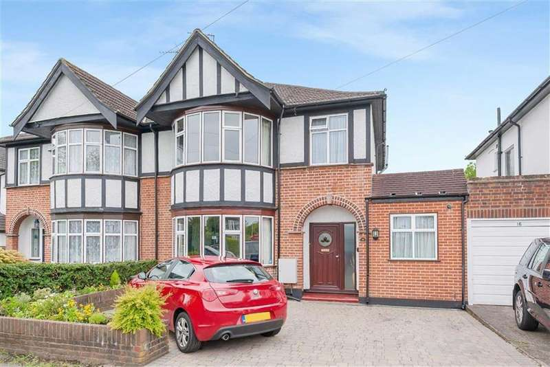 4 Bedrooms Semi Detached House for sale in Devonshire Road, Eastcote, Middlesex