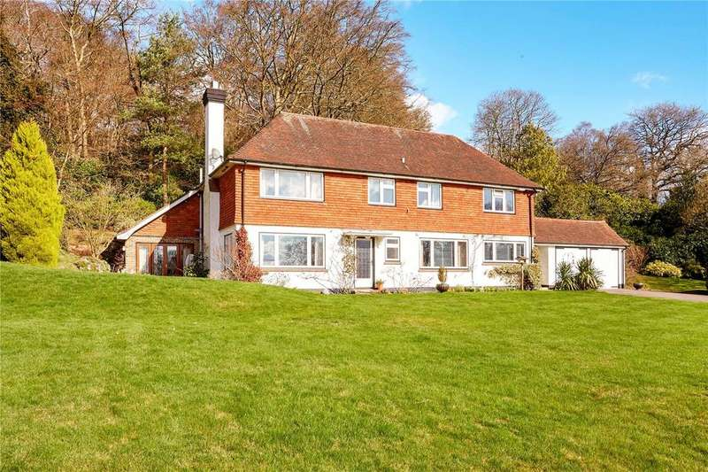 4 Bedrooms Detached House for sale in Stone Street Road, Ivy Hatch, Sevenoaks, Kent, TN15