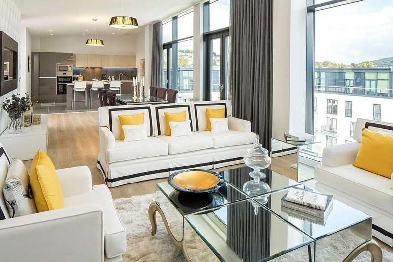 2 Bedrooms Penthouse Flat for sale in Penthouse 6086, Leopold House, Bath Riverside, Bath, BA2