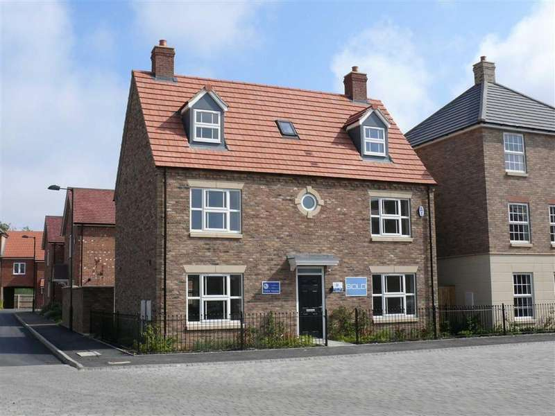 5 Bedrooms Detached House for sale in De Montfort Park, Boston