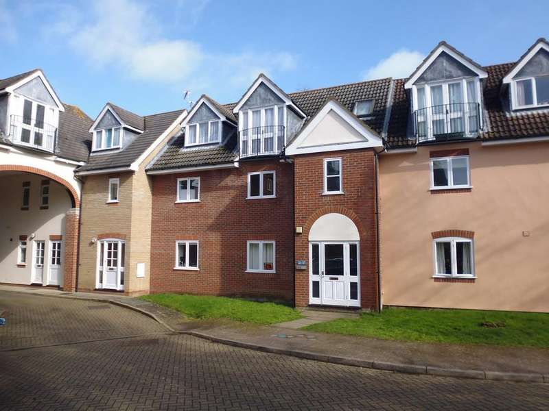 2 Bedrooms Flat for sale in Gipping Place, Stowmarket