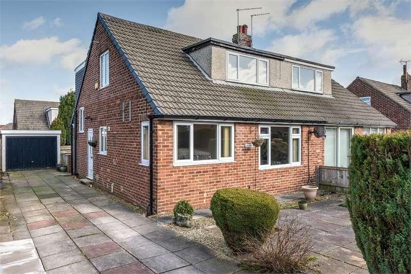 4 Bedrooms Semi Detached House for sale in Dean Park Avenue, Drighlington, West Yorkshire