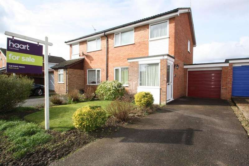 3 Bedrooms Semi Detached House for sale in Scott Close, Thetford