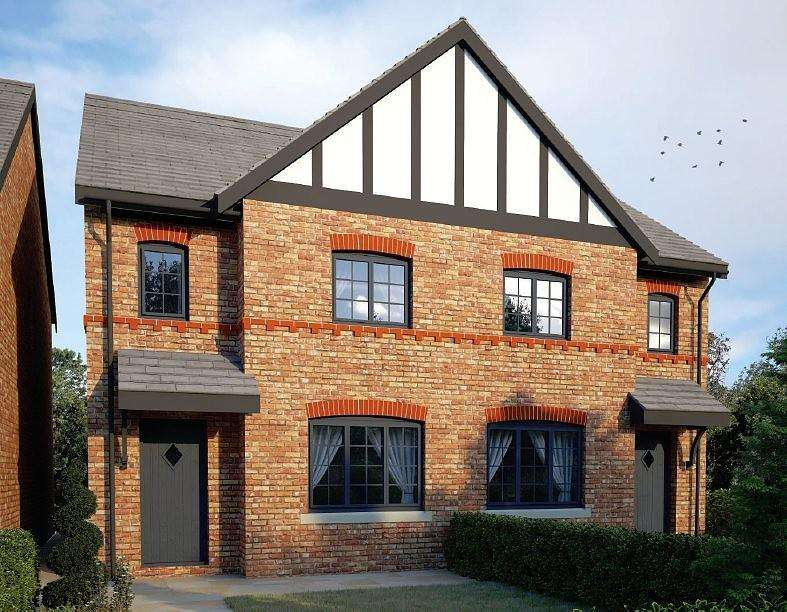 3 Bedrooms Semi Detached House for sale in Kings Meadow, Manchester