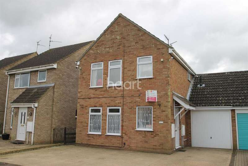 4 Bedrooms Detached House for sale in Windsor Drive, Wisbech