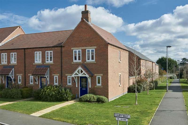 3 Bedrooms End Of Terrace House for sale in Dairy Way, Kibworth Harcourt, Market Harborough