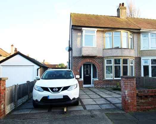 3 Bedrooms Semi Detached House for sale in Burlington Grove, Morecambe, Lancashire, LA4 5XW