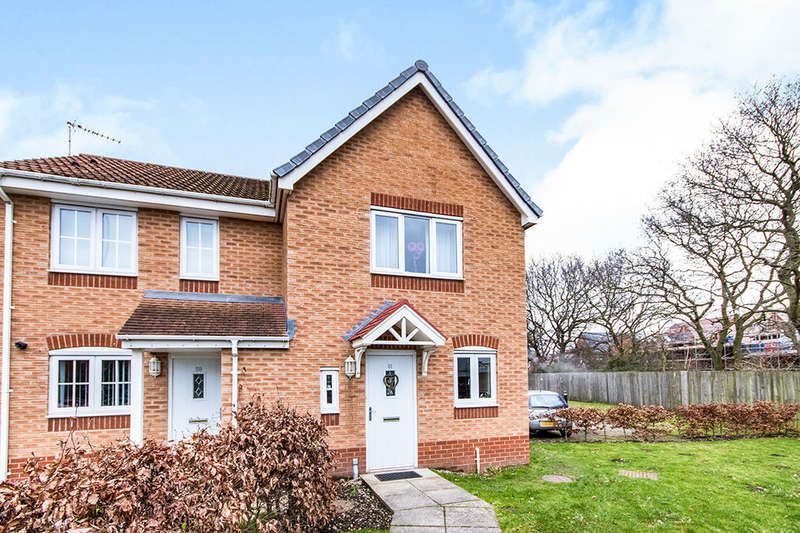2 Bedrooms Semi Detached House for sale in Tiber Road, North Hykeham, Lincoln, LN6