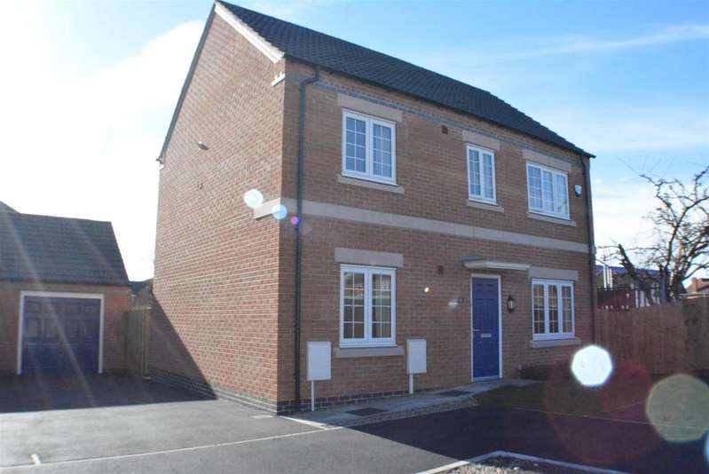 4 Bedrooms Detached House for sale in Tom Stimpson Way, Sutton-In-Ashfield