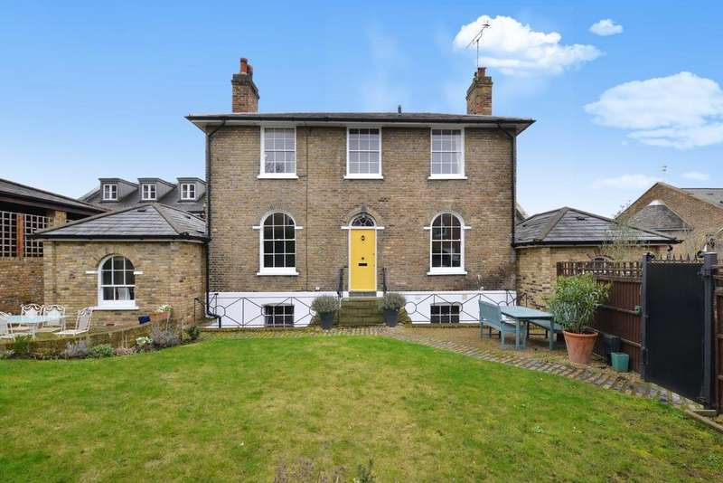 5 Bedrooms Detached House for sale in Georgette Place, Greenwich, SE10