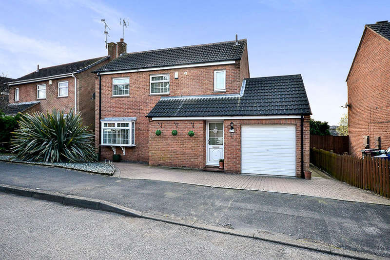 3 Bedrooms Detached House for sale in Gordon Crescent, Broadmeadows,South Normanton, Alfreton, DE55