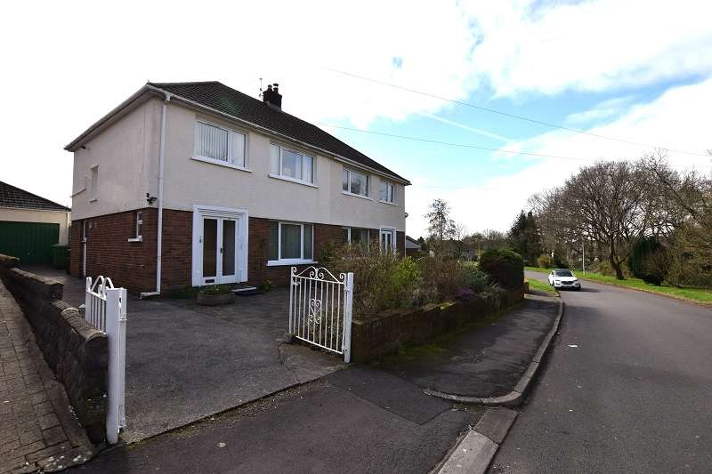 3 Bedrooms Semi Detached House for sale in Heol Briwnant , Rhiwbina, Cardiff. CF14 6QG