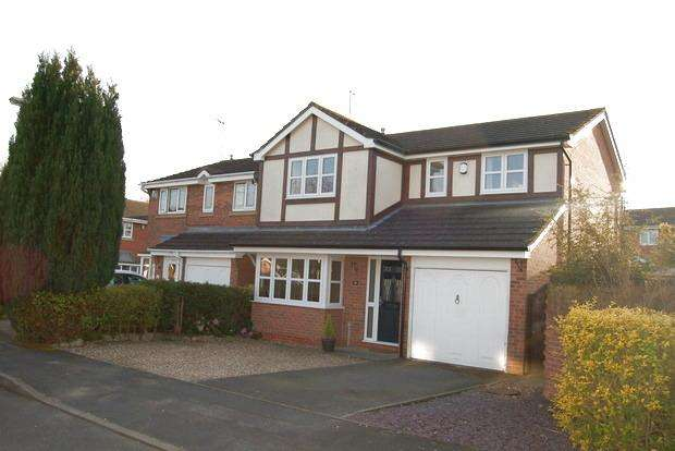 4 Bedrooms Detached House for sale in Ludlam Close, Countesthorpe, Leicester, LE8