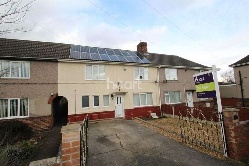 3 Bedrooms Terraced House for sale in York Street, Rossington
