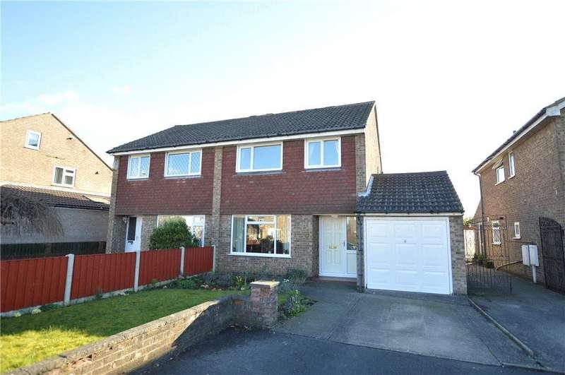 3 Bedrooms Semi Detached House for sale in Braemar Drive, Garforth, Leeds, West Yorkshire