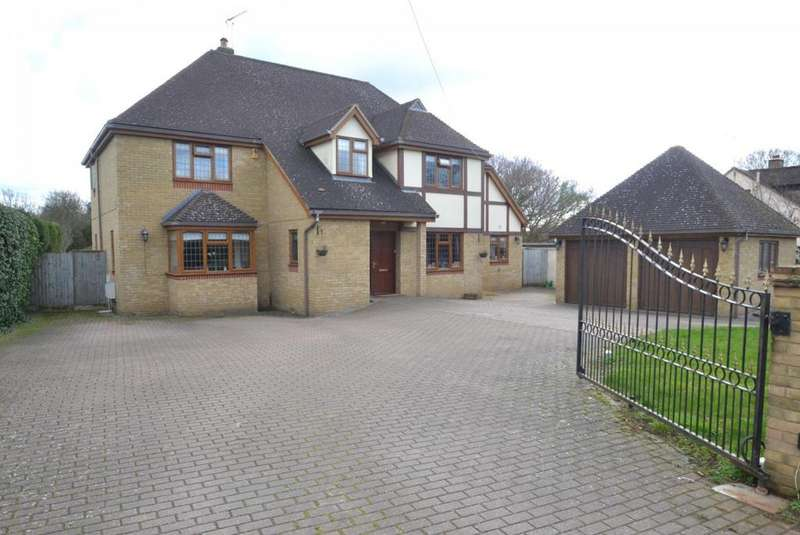 5 Bedrooms Detached House for sale in Church Road, Ramsden Bellhouse, Billericay, Essex, CM11