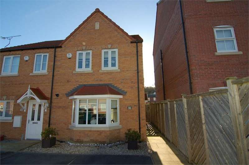 3 Bedrooms Semi Detached House for sale in Foundry Gate, Wombwell, BARNSLEY, South Yorkshire