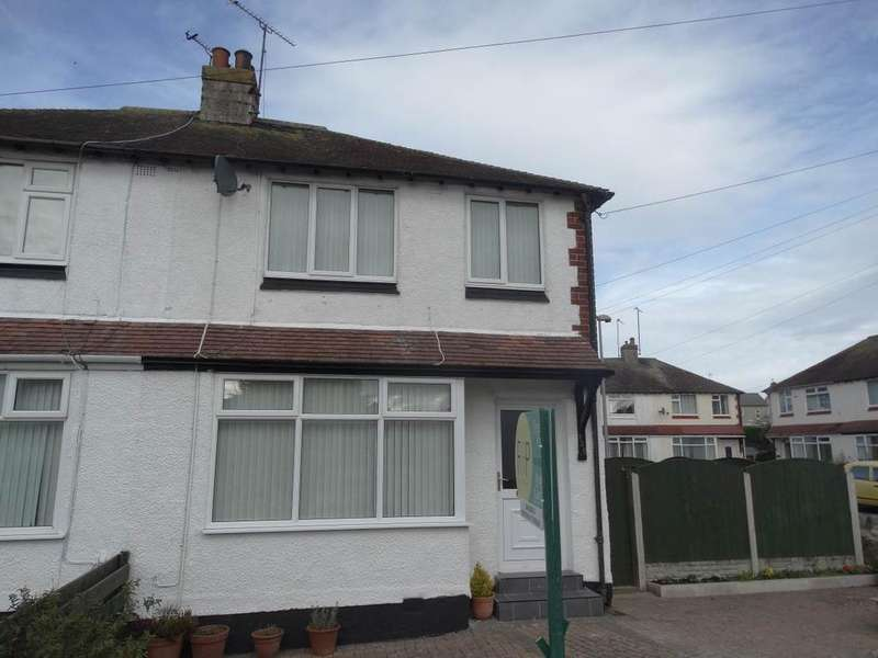 3 Bedrooms Semi Detached House for sale in 128 Penrhyn Avenue, Rhos on Sea, LL28 4LG