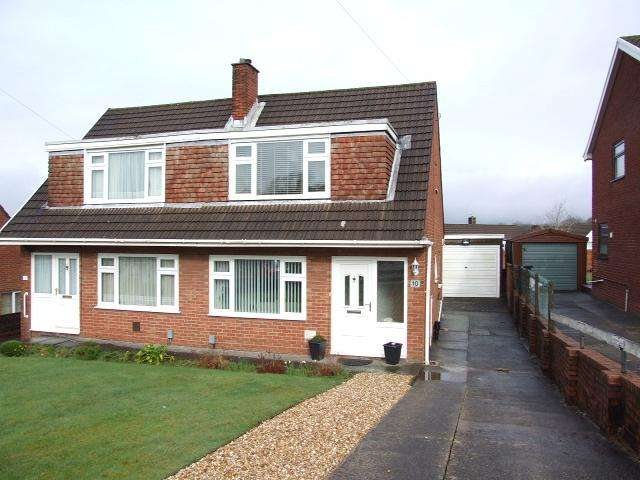 3 Bedrooms Semi Detached House for sale in 10 Brodawel, Cimla, Neath