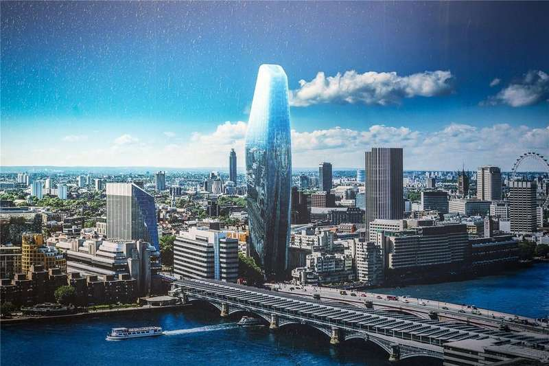 3 Bedrooms Apartment Flat for sale in One Blackfriars, 1 Blackfriars Road