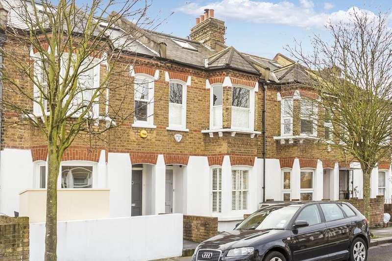 4 Bedrooms Terraced House for sale in Vespan Road, London W12
