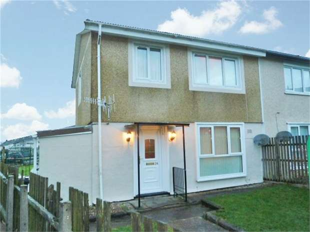 3 Bedrooms Semi Detached House for sale in Tai'r Twynau, Pant, Merthyr Tydfil, Mid Glamorgan