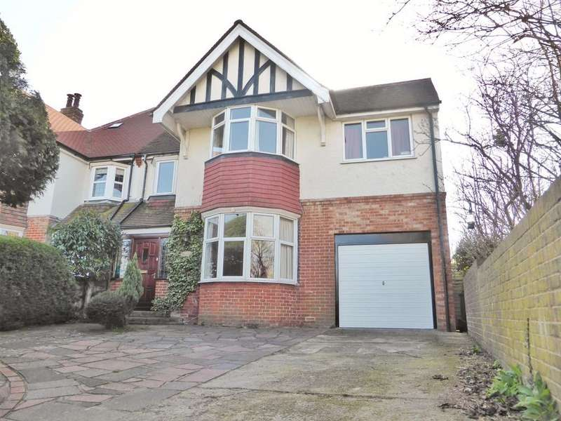 4 Bedrooms Semi Detached House for sale in Milton Crescent, Old Town, Eastbourne, BN21