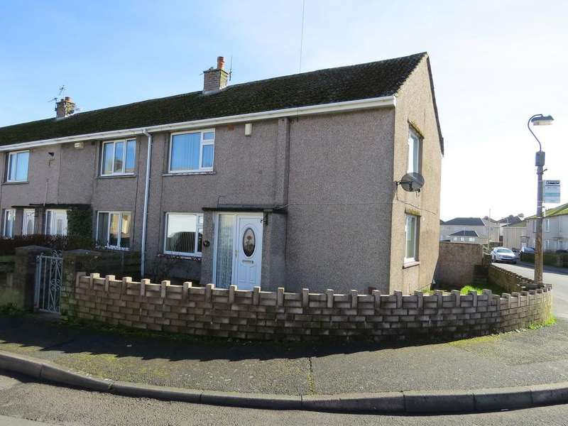 4 Bedrooms End Of Terrace House for sale in Buttermere Avenue, Whitehaven, Cumbria