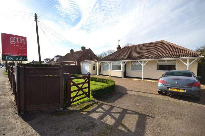 3 Bedrooms Bungalow for sale in Bath Road, Bawdrip, Bridgwater, Somerset, TA7