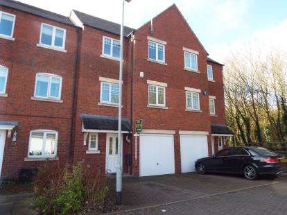 4 Bedrooms Terraced House for sale in Hedgerow Close, Redditch, Worcestershire