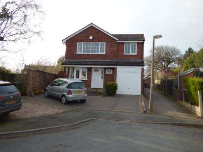 4 Bedrooms Detached House for sale in Windsor Close, Tamworth, Staffordshire