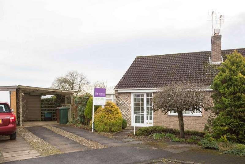 1 Bedroom Semi Detached Bungalow for sale in Kildare Garth, Kirkbymoorside, York, YO62