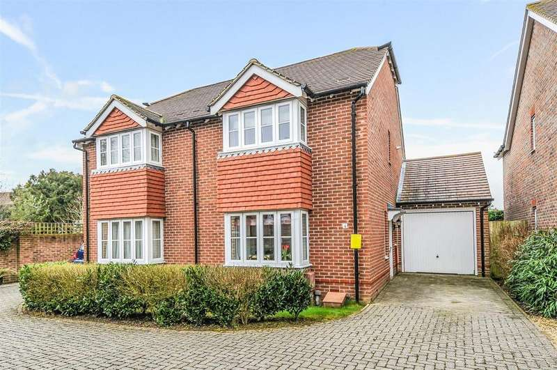 2 Bedrooms Semi Detached House for sale in Drovers Way, Barnham