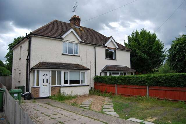 3 Bedrooms Semi Detached House for sale in Frimley Road, Camberley, Surrey, GU15 2QB