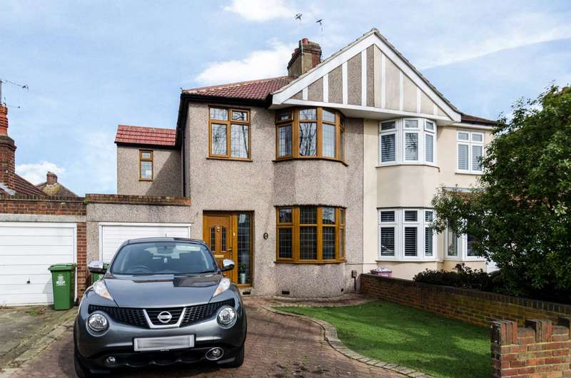3 Bedrooms Semi Detached House for sale in Little Birches, Sidcup, DA15 7LW