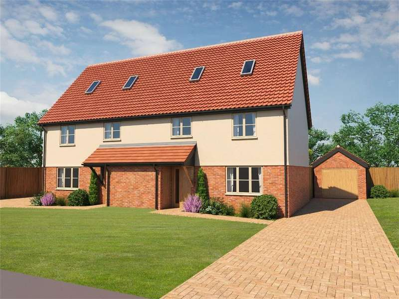 2 Bedrooms Semi Detached House for sale in Kenninghall Road, East Harling, NR16 2QD