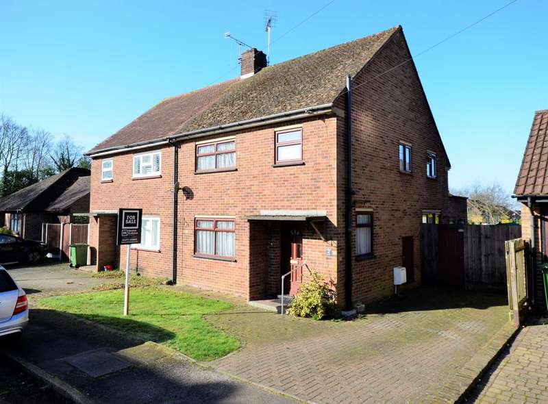 3 Bedrooms Semi Detached House for sale in Burghstead Close, Billericay