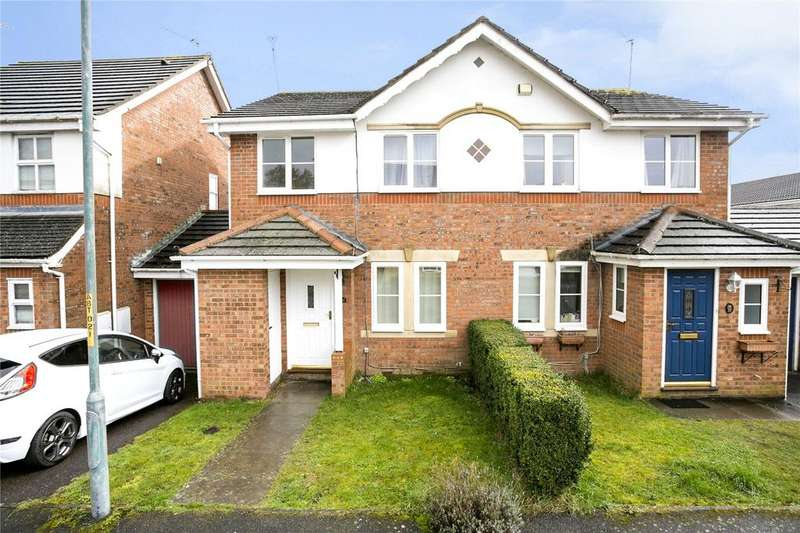 3 Bedrooms Semi Detached House for sale in Aisher Way, Riverhead, Sevenoaks, Kent