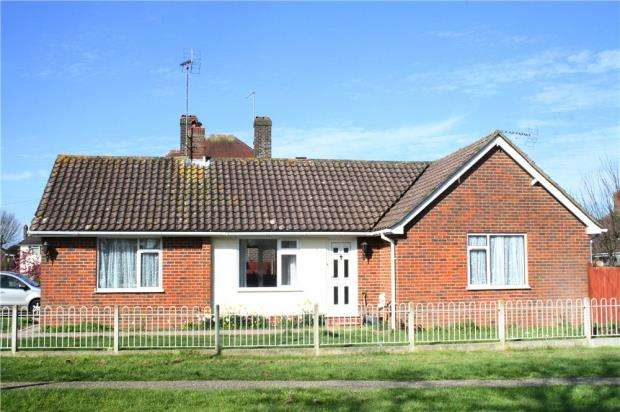 2 Bedrooms Detached Bungalow for sale in Park Drive, Rustington, West Sussex, BN16