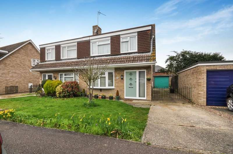 3 Bedrooms Semi Detached House for sale in Evergreen Drive, Colchester