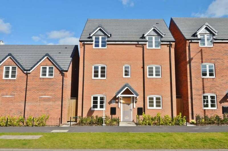 4 Bedrooms Detached House for sale in Armitage Road, Rugeley