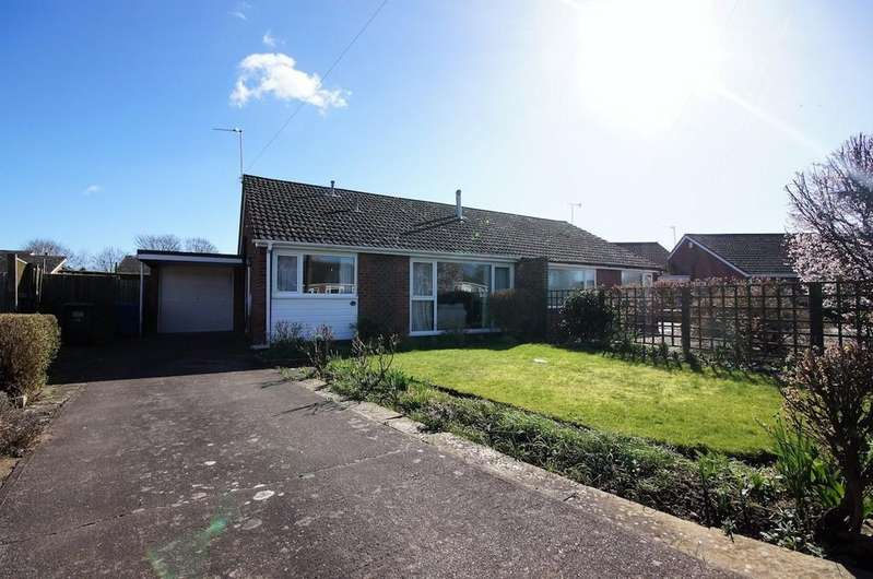 2 Bedrooms Semi Detached Bungalow for sale in Orchard Way, Nettleham, Lincoln
