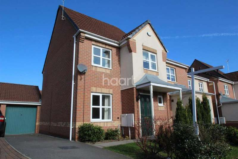 3 Bedrooms Semi Detached House for sale in Pagett Close, Hucknall