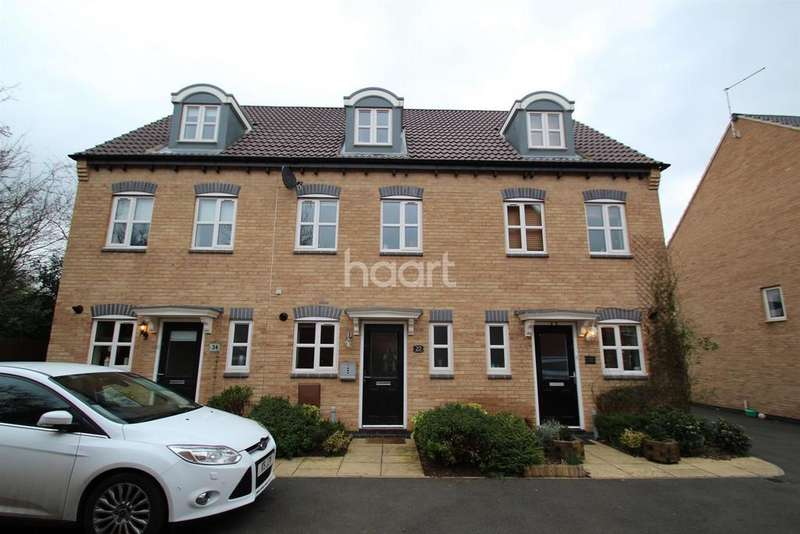 3 Bedrooms Terraced House for sale in Justinian Close, Hucknall