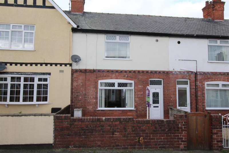 2 Bedrooms Terraced House for sale in Hamilton Street, Worksop