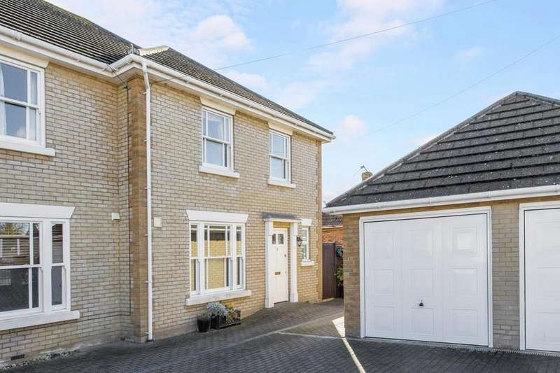 4 Bedrooms End Of Terrace House for sale in Thistle Mews, Turner Road, Colchester, Essex, CO4