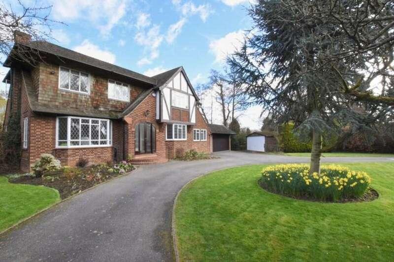 5 Bedrooms Detached House for sale in Hamm Court, Weybridge