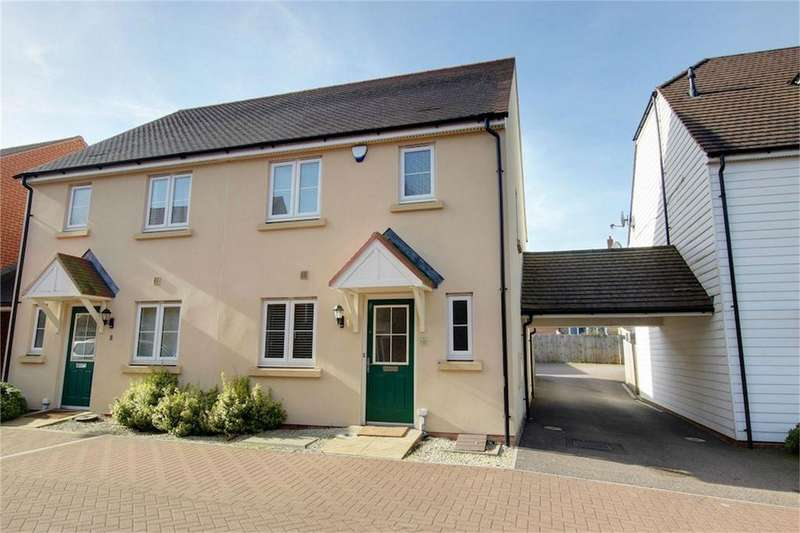 3 Bedrooms Semi Detached House for sale in Leaden Close, Loughton, Essex