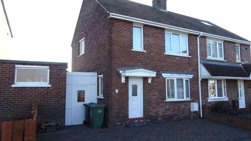 2 Bedrooms Semi Detached House for sale in Gainsborough Crescent, Houghton Le Spring